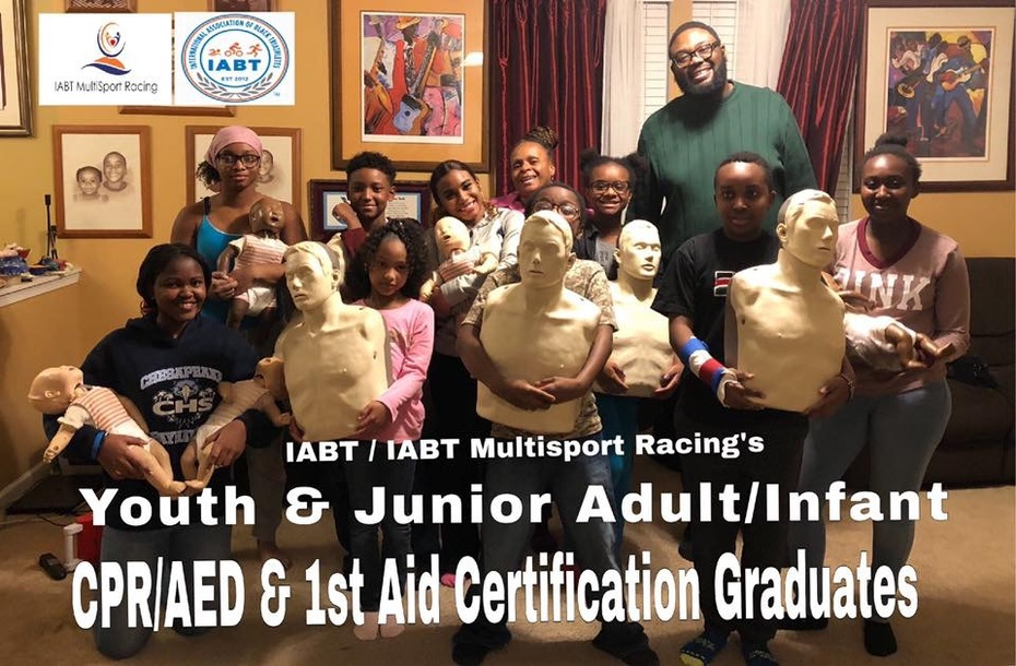 IABT's Youth & Junior ADULT/Infant CPR/AED & 1st Aid Certification Graduates