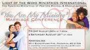 """You are my Ministry"" Marriage Conference"