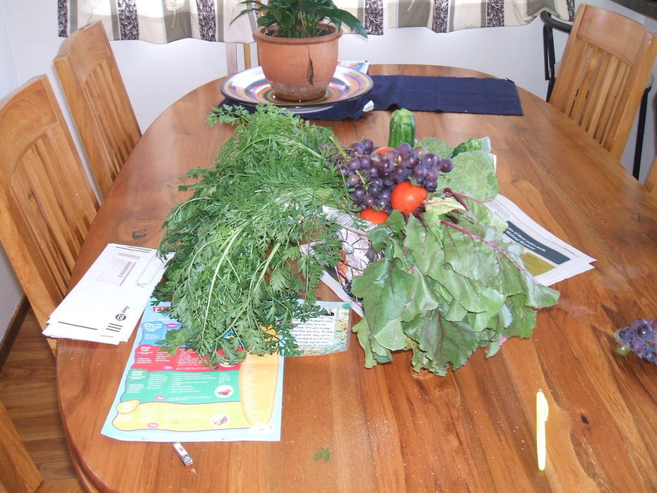 swap basket of vege