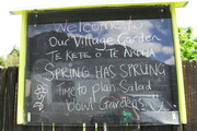 'Our village garden' TeAroha's community garden