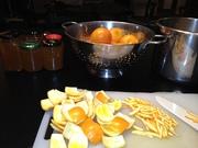 saturday night marmalade making session