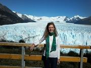 Ante el imponente Glaciar perito Moreno