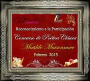POETICA CLASICA-CONCURSO Reconoc.Participación