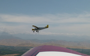 Jim Derickson's 750 off my right wing
