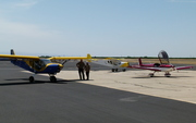 Three Zenith aircraft at Porterville (KPTV) for fuel