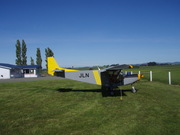 Gore airfield, Southland. New Zealand.