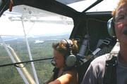 Grandson Jaden flying CH701  C-GDDZ