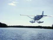 Flyby on Madashack Lake