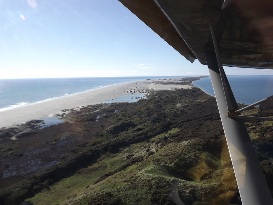 Farewell Spit - North of South Island - New Zealand