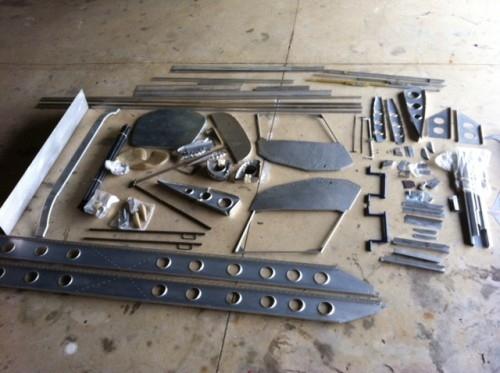 701 kit parts