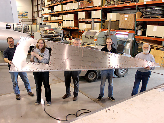 The EAA Zenith Project: The fuselage has begun!