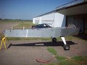 Plane on the mains.  8/25, Lake Elmo, MN CH650b