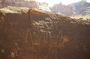 More rock art at Mexican Mountain