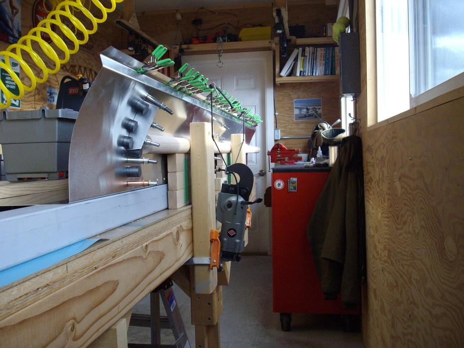DIY slat rib installation 701