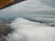 """""""streamer"""" clouds"""