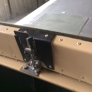 Canopy latch