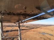 Landing in mud