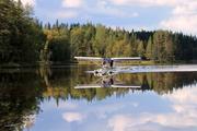 Taxiing at Lake Väärälampi