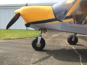 new nose gear fork