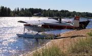 The CH701 on River Kiiminkijoki