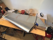 More rudder progress