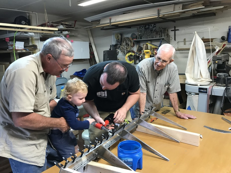 4 Generations first 4 rivets