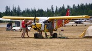Somthing fishy about this 701's paint job, at Arlington Washington fly-in