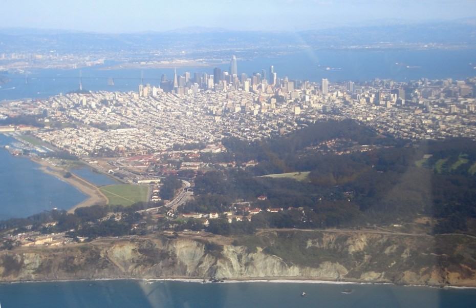 San Francisco from Lands End
