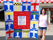 Zenith Aircraft 25th Anniversary Quilt to be Auctioned for Charity