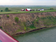 "IFR (""I Follow Rivers"") across North and South Dakota"
