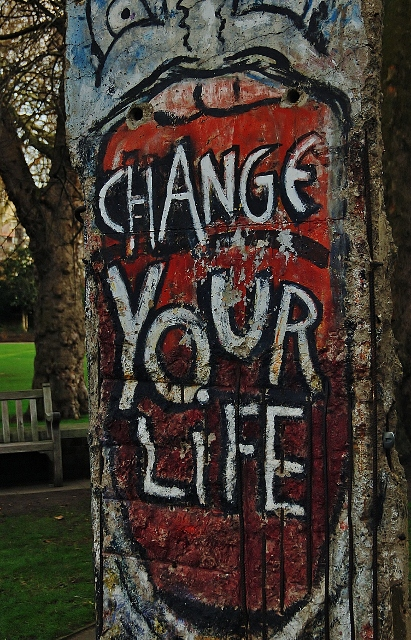 YOUR LIFE CHANGES YOU