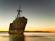 The spooky ship...