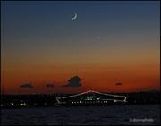 Σελήνη - Αφροδίτη πάνω από τον Ωρωπό.