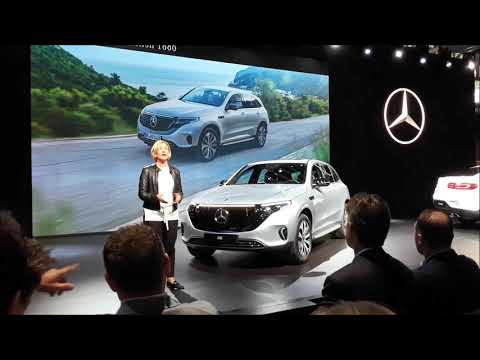 Mercedes Benz World Premier Of the GLC Coupe EQC Edition 1886 and GLS At the 2019 New York Internati
