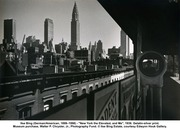 Ilse Bing - New York The Elevated and Me 1936