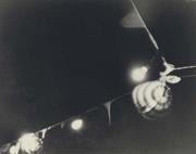 Ilse Bing, Bastille Day lanterns at night, Paris