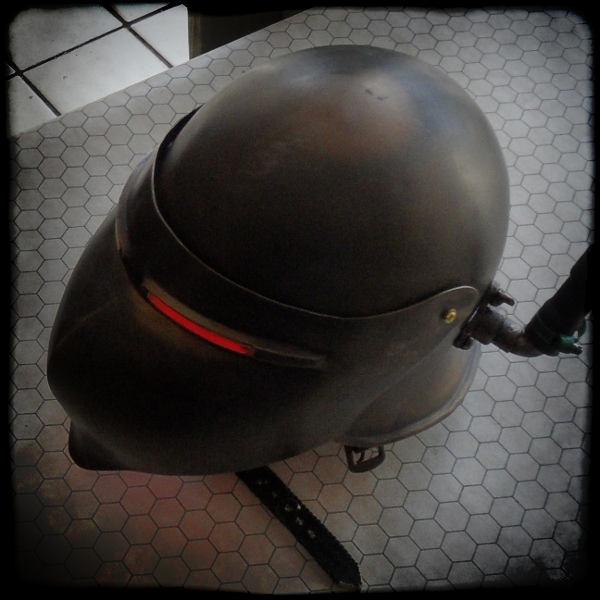 Pulp Space Gear villain helmet