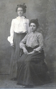 Edith and Electa Savage