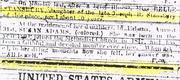Obituary - .Adams, Susan    August 1861
