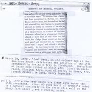 Article & Newspaper clippings for Reno, Joseph of Medina, Ohio