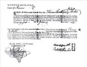 Thomas SMITH & Mary 'Mollie' MacKIE- Marriage License