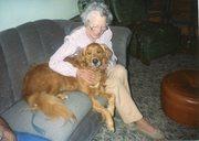 Vivian and Mollie Dog