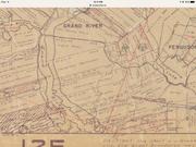 grand River Land grants map