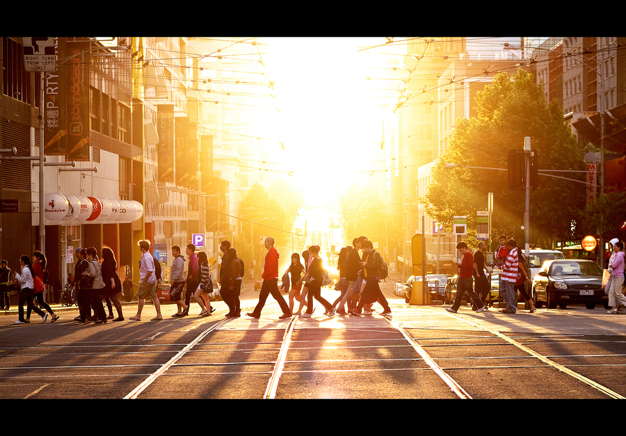 The Light of City: Last Day of Summer by Thai Hoa Pham