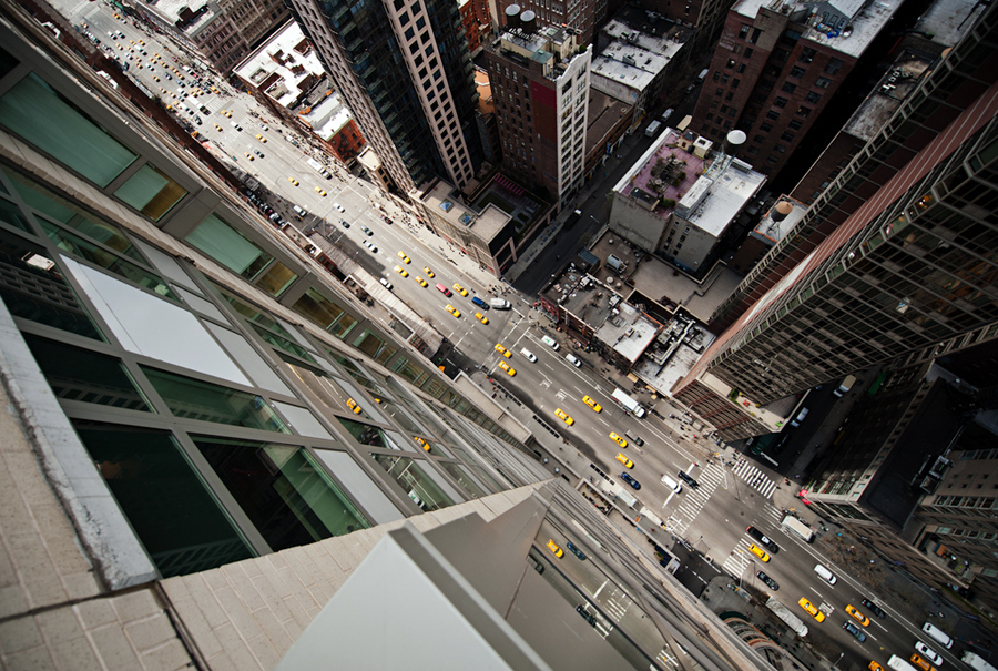 The Light of City: Intersection NYC by Navid Baraty