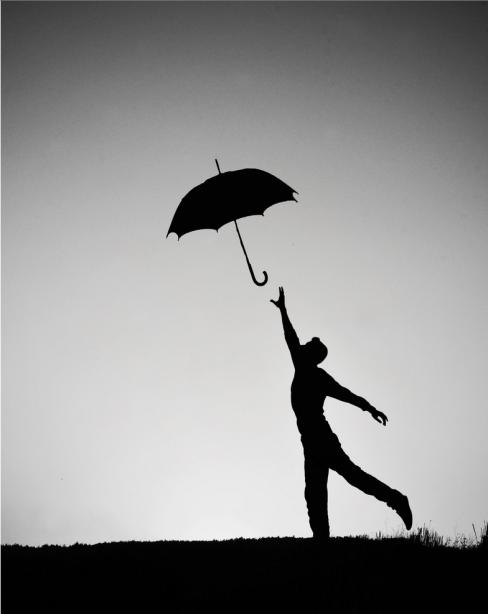 Adrian Limani: Umbrellas in Black and White