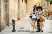 Japanese in Barcelona by Alvaro Garcia Lazaro