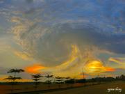 飞舞的云彩