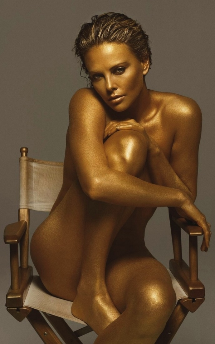 人體彩繪·金系列