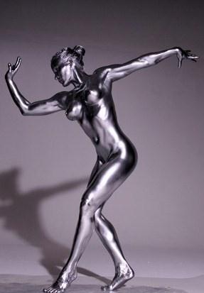 人體彩繪·銀系列